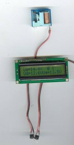Kontroler punjača akumulatora 12V